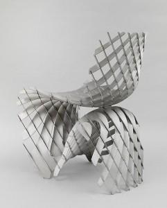 silla escultura